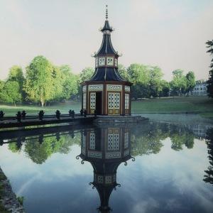 La petite pagode chinoise trônant sur le lac.
