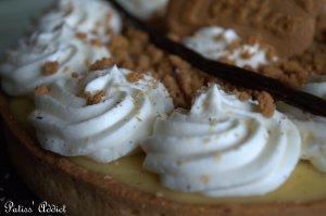 La ganache montée vanille/tonka.